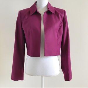 Anne Klein Short Waisted Bolero Blazer Jacket